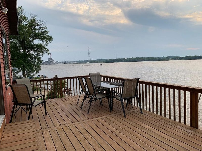 Mississippi River House, holiday rental in Port Byron