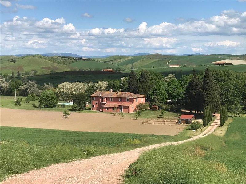Casarossa - La casa del cuore, holiday rental in Casciana Alta
