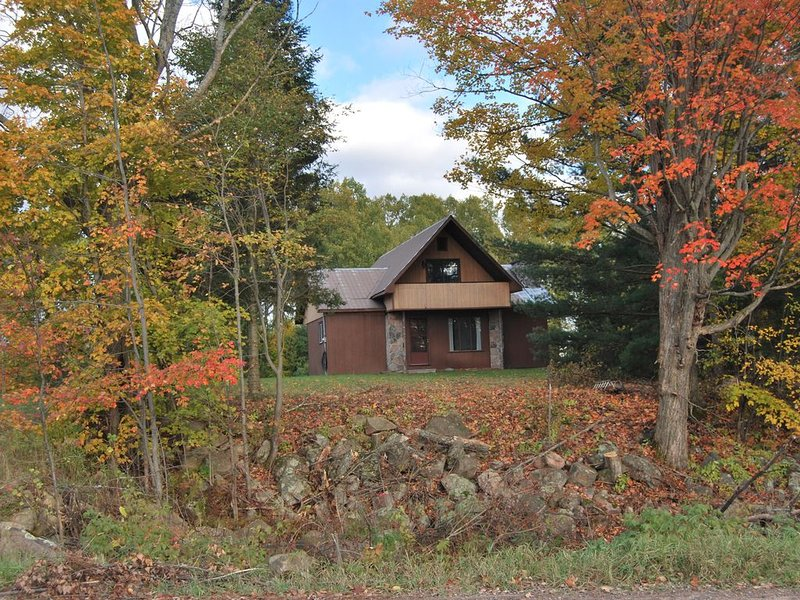 All-season Lakeview Cottage with Stone Fireplace, aluguéis de temporada em Bancroft