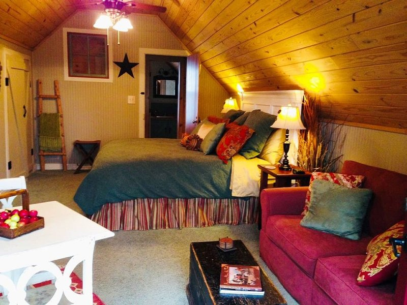 Tree Top Suite at the Brazos Bed & Breakfast, holiday rental in Washington