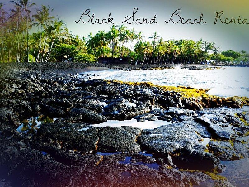 #49 Black Sand Beach Rental - SeaMountain, vacation rental in Pahala