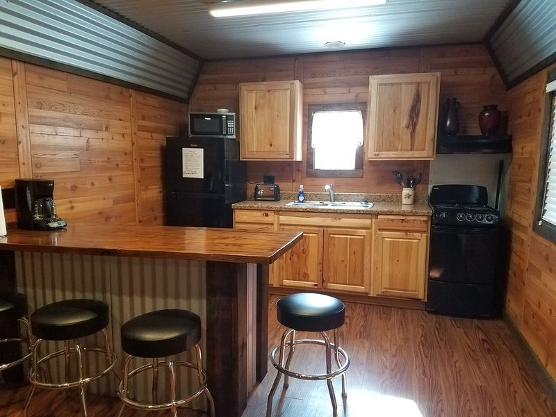Cabin #2 South Toledo Bend, alquiler vacacional en Burkeville