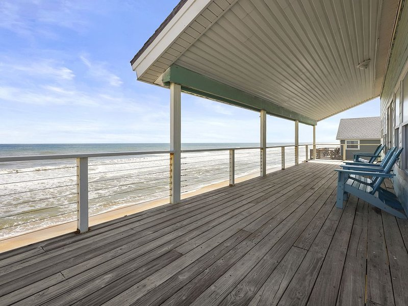 Ocean Front 5 bedroom pet friendly, South Ponte Vedra Beach, Florida, holiday rental in Villano Beach