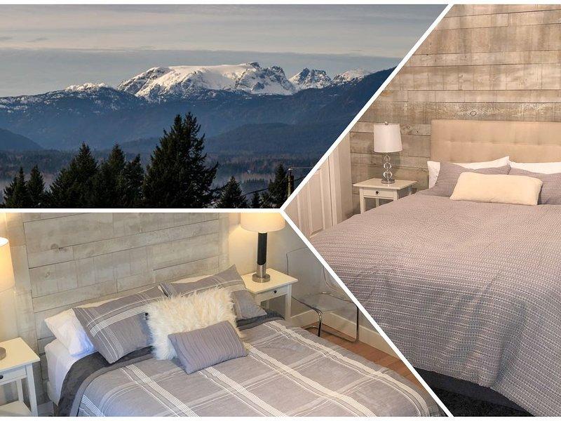 Panoramic view, 2 BR suite, NEW kitchenette!, location de vacances à Royston