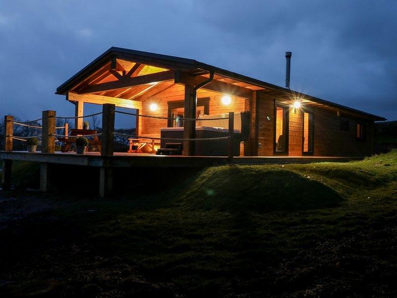 Bryn Eiddon Log Cabin, MACHYNLLETH, holiday rental in Llanwrin