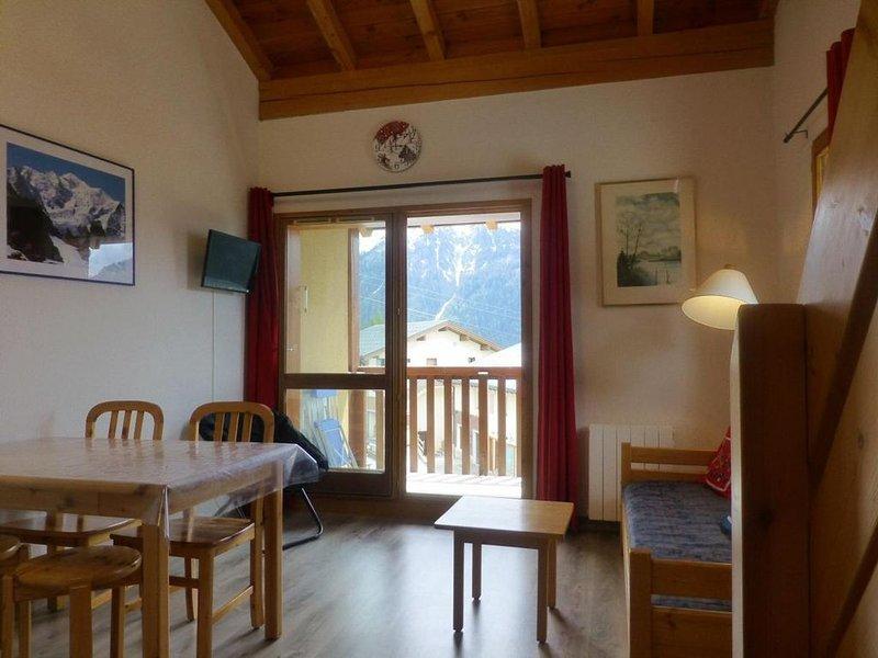 À 170m des pistes de ski, 2ème étage, balcon, télévision, casier à ski, 47m², Pe, casa vacanza a Nancroix