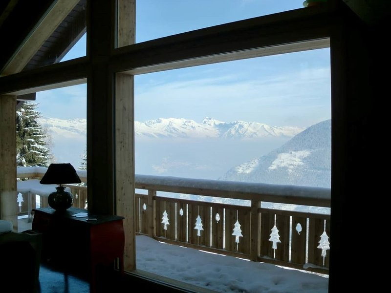 NEW: Luxery chalet Spa Tzoumaz-Verbier, Ski in/out, holiday rental in Riddes