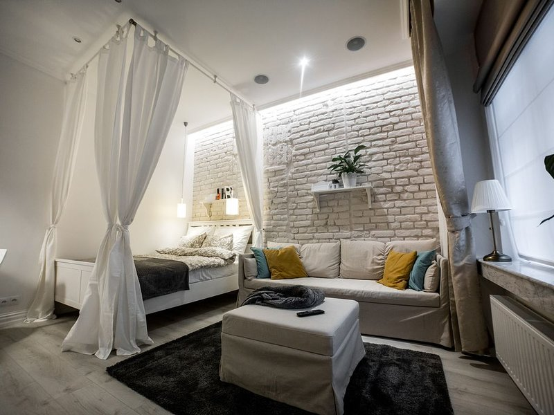 The 9.6 apartment is located on the ground floor near the Lublin Old Town., vacation rental in Wojciechow