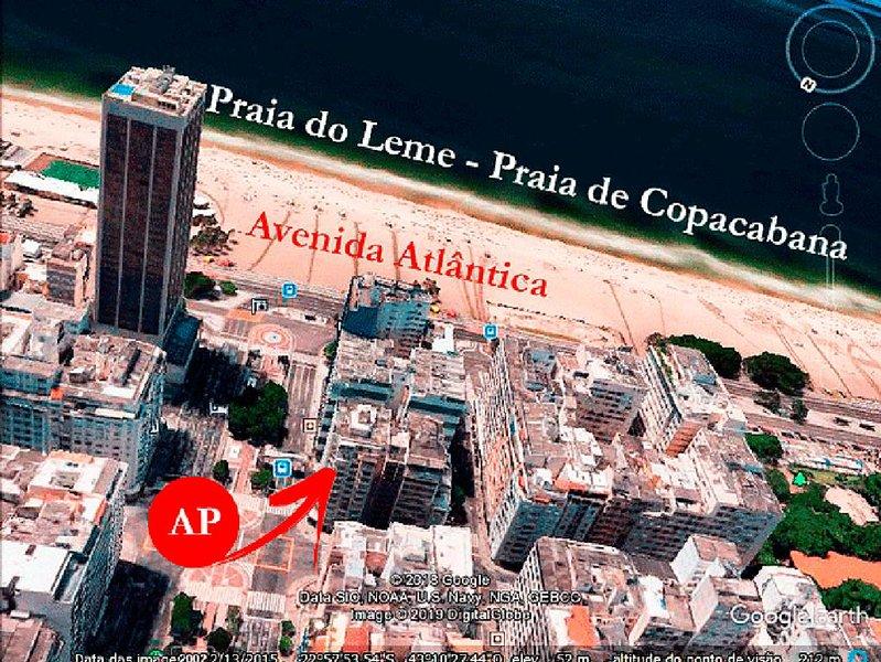 Rio Copacabana Leme 50 metros da praia, location de vacances à Visconde de Maua