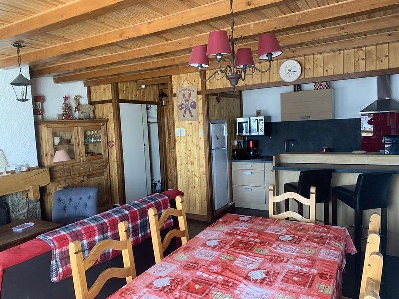 Appartement 80m² duplex 8 personnes au Pla d'Adet – Pied de pistes, casa vacanza a Tramezaigues