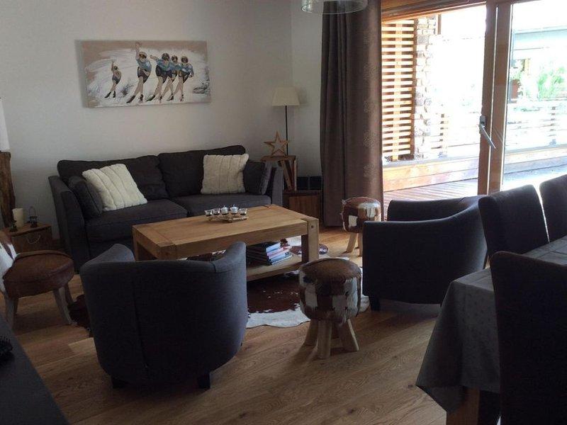 Appartement en Rez de jardin dans résidence récente, location de vacances à Le Monetier-les-Bains
