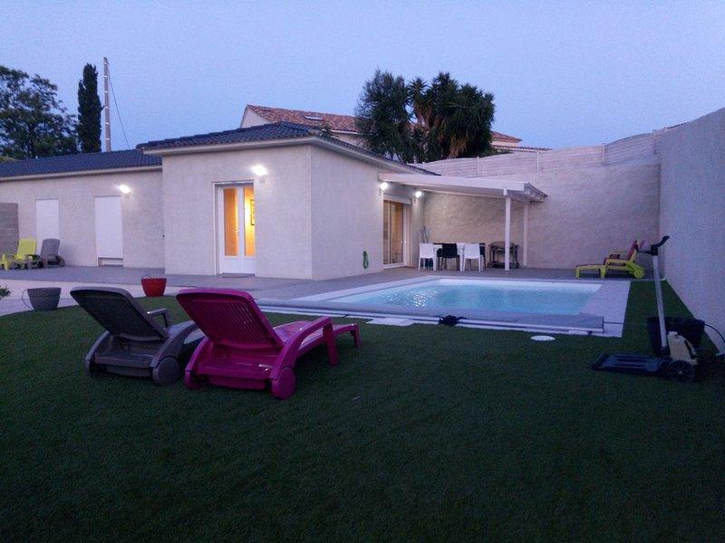 Très Belle Villa  Piscine privée, vacation rental in Aleria