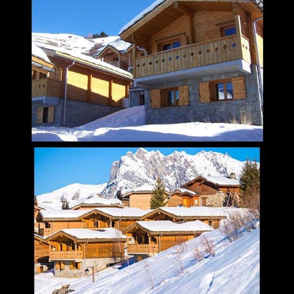 Chalet 10 personnes au pied des pistes - Piscine été / hiver, holiday rental in Saint Michel de Maurienne