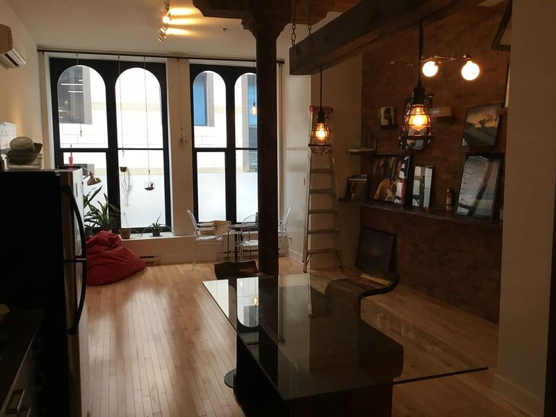 Urban duplex with private rooftop, vacation rental in Saint-Lambert