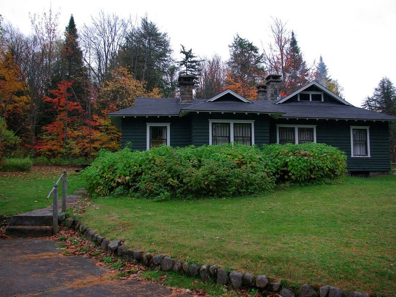 New Listing:  Stay At  Historic Gate Cottage at White Pine Great Camp, holiday rental in Vermontville