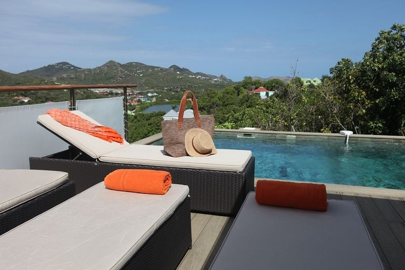 Saint Barthelemy: Maison avec jardin, holiday rental in St. Jean