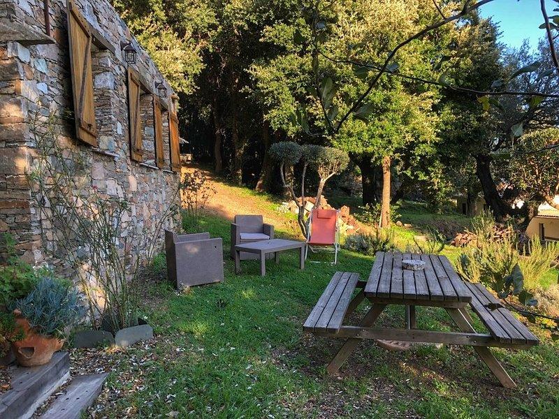 Maison de charme corse, vacation rental in Brando