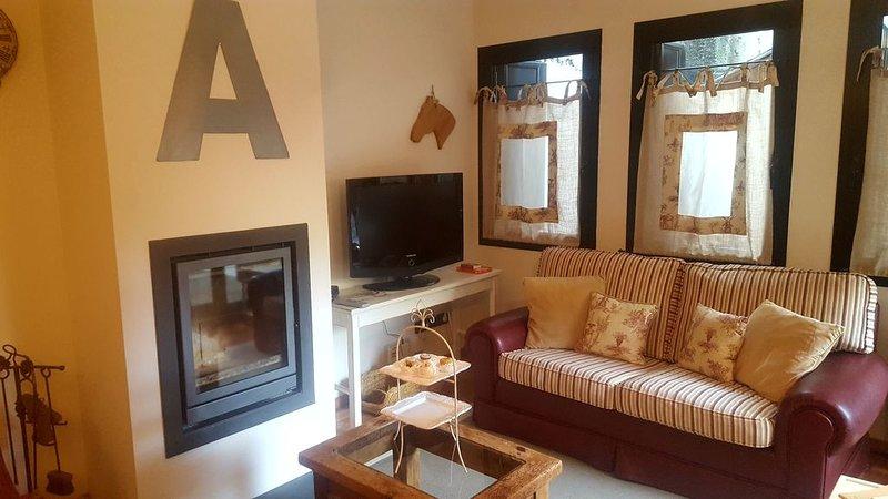 Encantador apartamento a 5 minutos de pistas. Gran terraza. Wifi . Pk, alquiler de vacaciones en Andorra