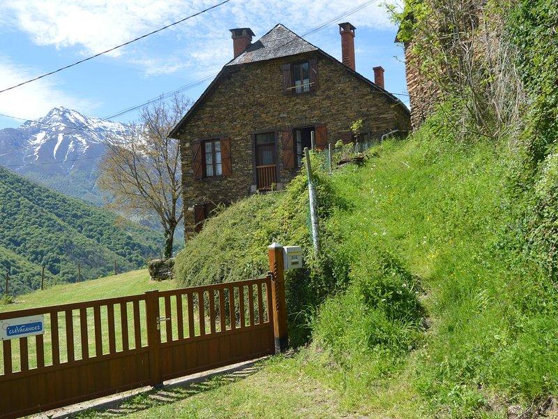 Maison en pierre de caractère au cœur du Parc naturel de l'Ariège, Ferienwohnung in Buzan