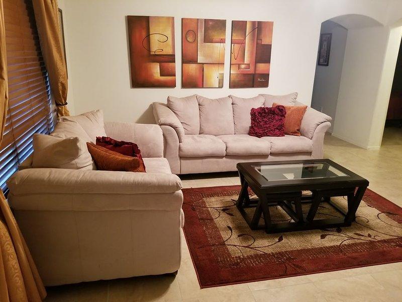 The Chase House, near shopping and restaurants in Sahuarita/Green Valley area., holiday rental in Sahuarita