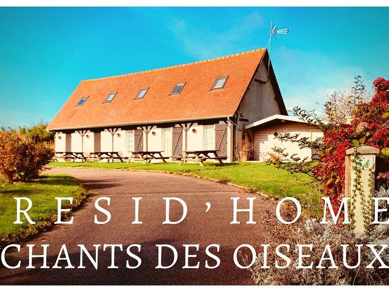 Resid'Home Chants des Oiseaux, vacation rental in Ganzeville