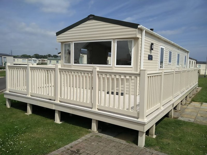 Brand New 8 Berth Caravan - Sandy Bay, alquiler vacacional en Choppington