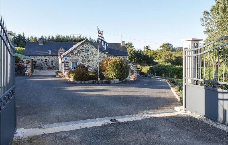 2 Zimmer Unterkunft in Plouguenast/Langast, Ferienwohnung in La Motte