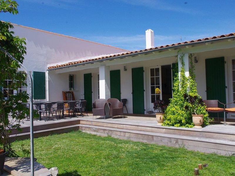 MAISON CHARMANTE, SPACIEUSE et CALME, holiday rental in Saint Clement des Baleines