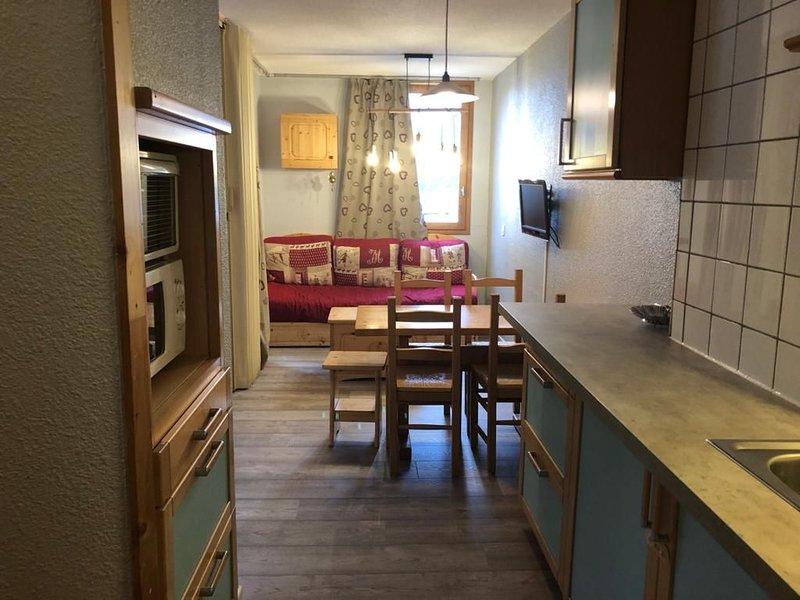 Appartement traditionnel de montagne pour Hiver comme Été – semesterbostad i Valmorel