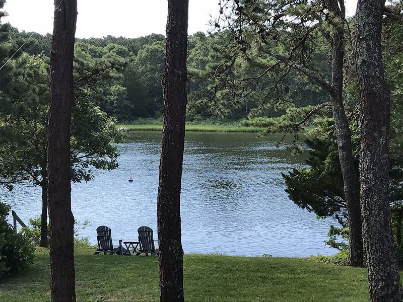 Waterfront Luxury Home on Waquoit Bay! Direct Access to Water from Backyard!, holiday rental in Falmouth