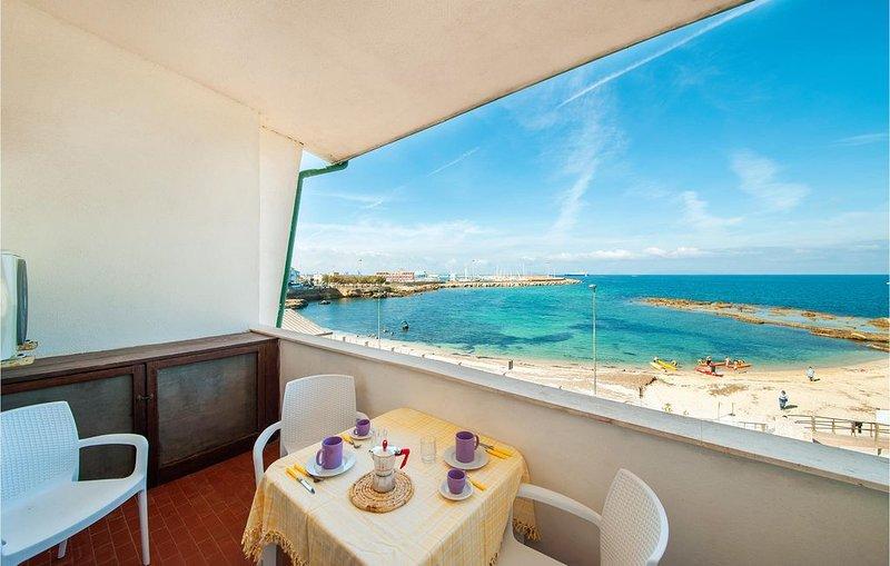 1 Zimmer Unterkunft in Porto Torres, holiday rental in Platamona