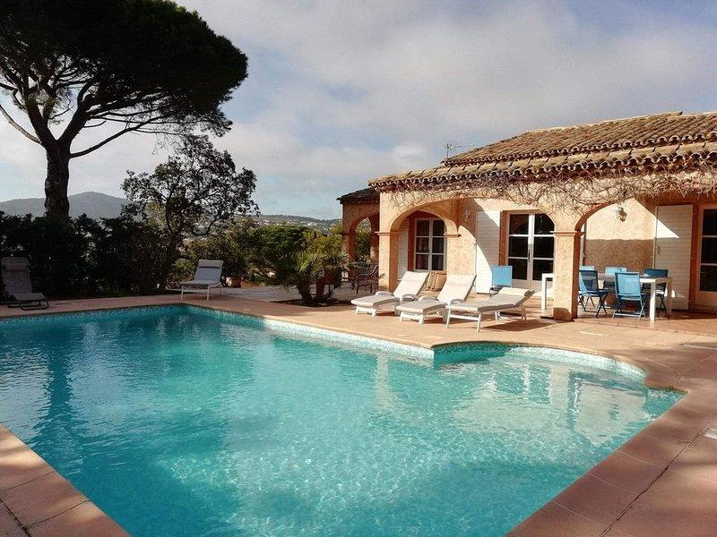 Villa de famille au Sémaphore, holiday rental in Sainte-Maxime