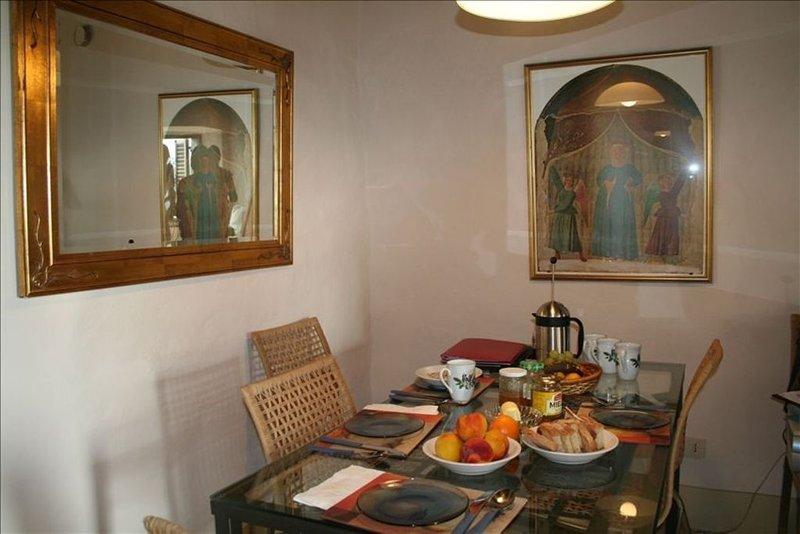 La Casa Cantabria in the medieval town of Anghiari, Tuscany, holiday rental in Anghiari