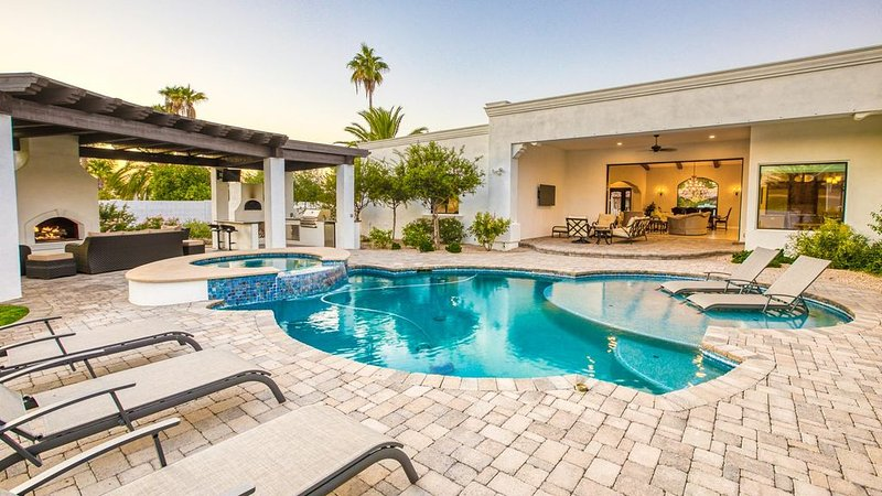 Spacious Estate w/ Lush Backyard, Luxury Features, Perfect Location, vacation rental in Paradise Valley