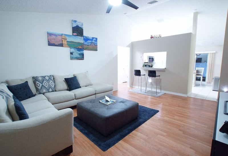 Convenient for Busch Gardens, USF, Hard Rock, Raymond J. Stadium and the Beach, holiday rental in Seffner