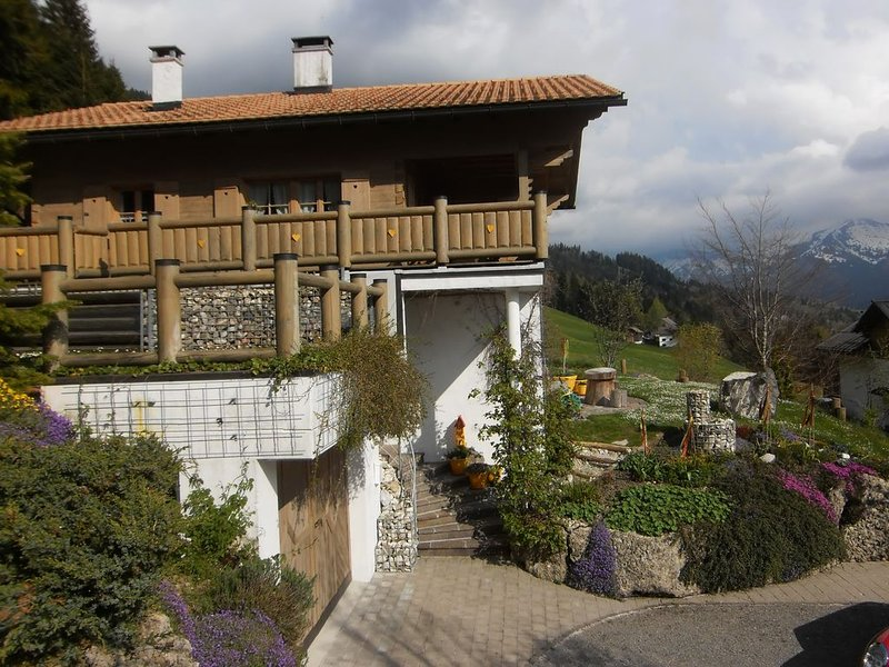 Haus Verdandi - Ruhe finden im Hier und Jetzt, holiday rental in Balderschwang
