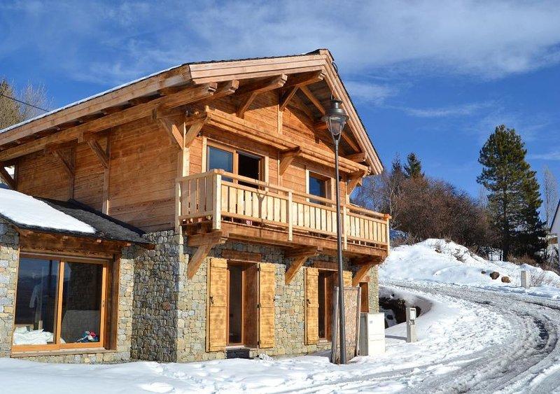 Magnifique Chalet Niyama, location de vacances à Angoustrine