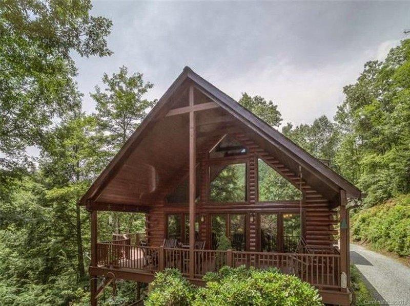 Peaceful Mountain Cabin, vacation rental in Vein Mountain