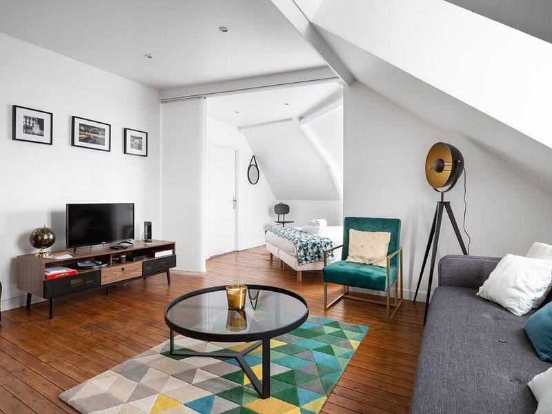Le HERON, Appartement deux chambres avec vue, casa vacanza a Saint Herblain