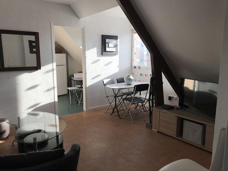 AU COEUR DE CABOURG, APPARTEMENT SPACIEUX ET LUMINEUX POUR  IDÉALEMENT 5/6PERS., vacation rental in Cabourg
