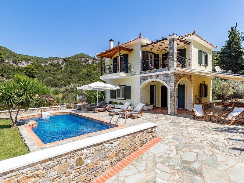 Skopelos Panormos Lux Vila Geraki, vakantiewoning in Panormos