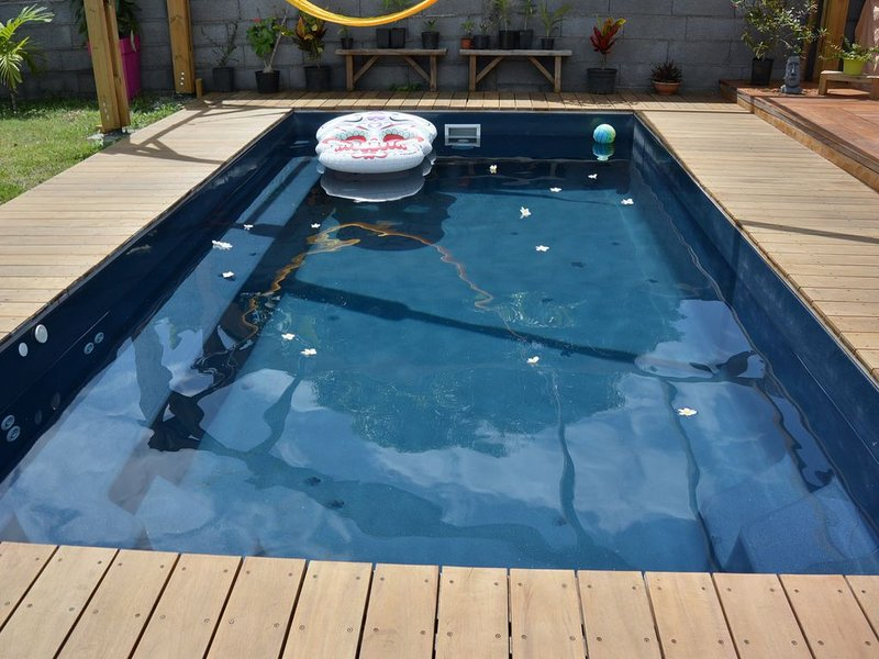 3 chambres piscine et spa, holiday rental in Saint Pierre
