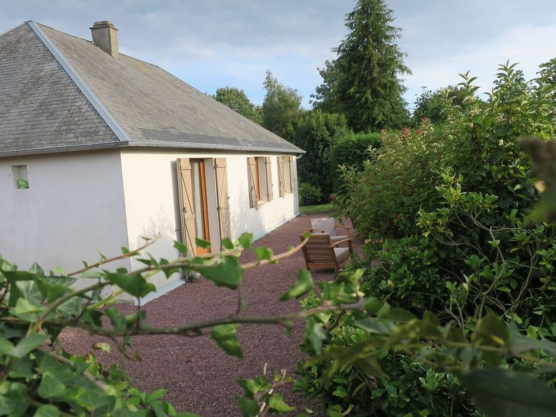 Grand cottage au cœur de la Normandie, accessible fauteuils roulants, holiday rental in Sainte-Cecile