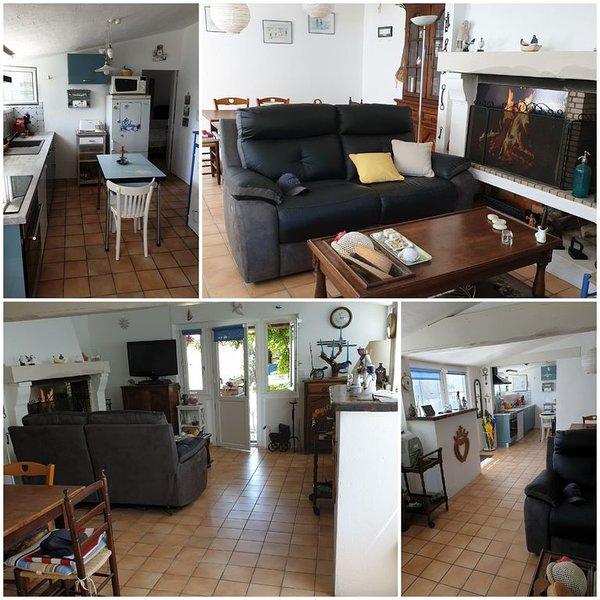 Au Vieil,  Petite maison de pêcheur classée 2 étoiles, WIFI, alquiler de vacaciones en Noirmoutier en l'Ile