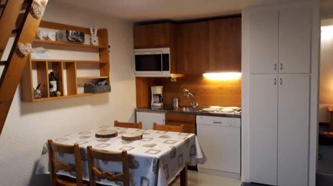 Appartement studio mezzanine dans le village de Villard de Lans, idéal famille, location de vacances à Villard-de-Lans