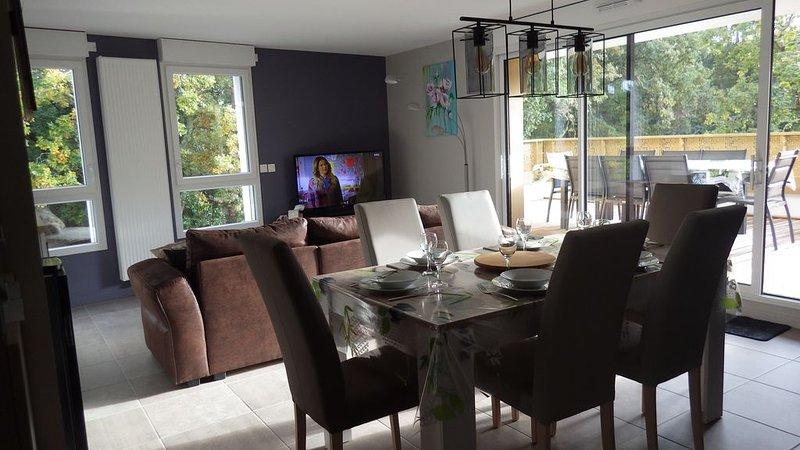 Appartement neuf meublé 85 m² classé 4 étoiles en meublé de tourisme, holiday rental in Capbreton