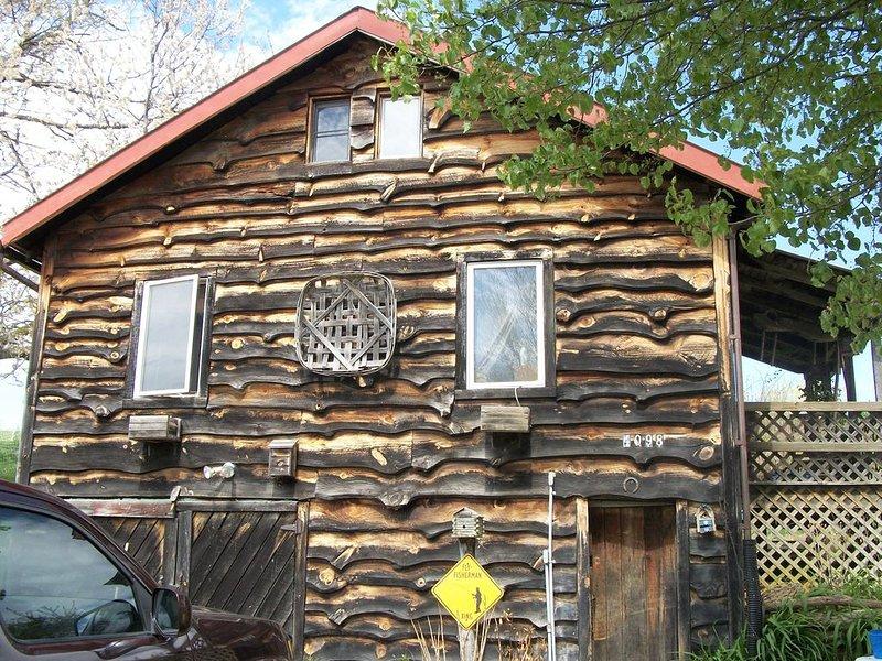 Rustic Cabin on organic farm near Boone, holiday rental in Zionville