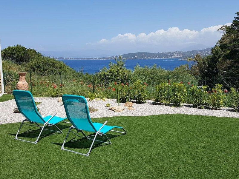 L'Acacia - Appt 80m² Vue Mer, Piscine, holiday rental in Coti-Chiavari