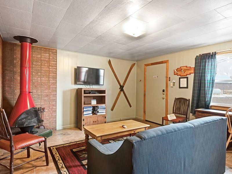 Dog-friendly cabin w/ shared hot tub, kitchen, entertainment & ski access nearby, holiday rental in South Fork