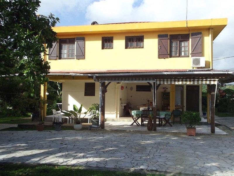 Bas de Villa  F3 - 70  m2 - 6 personnes, alquiler de vacaciones en Gros-Morne